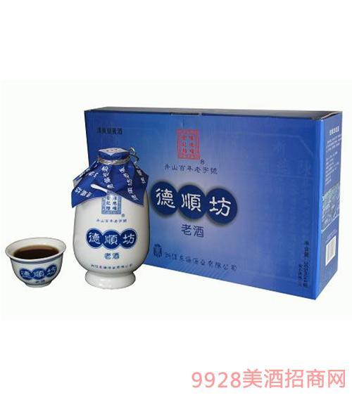 德顺坊老酒360ml瓷瓶