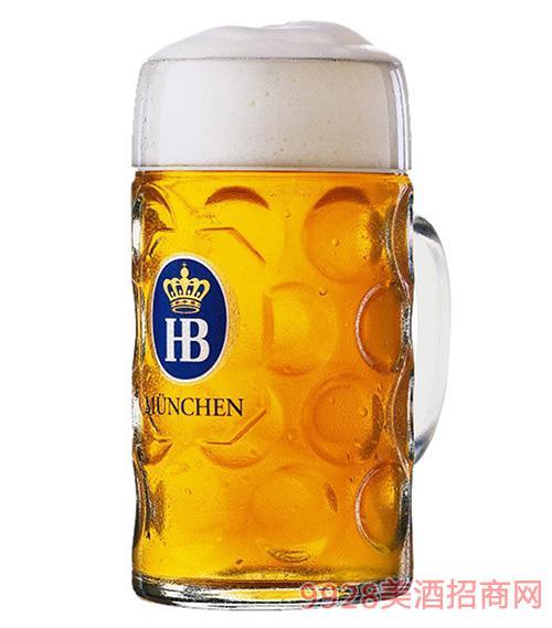 HB啤酒黄扎啤