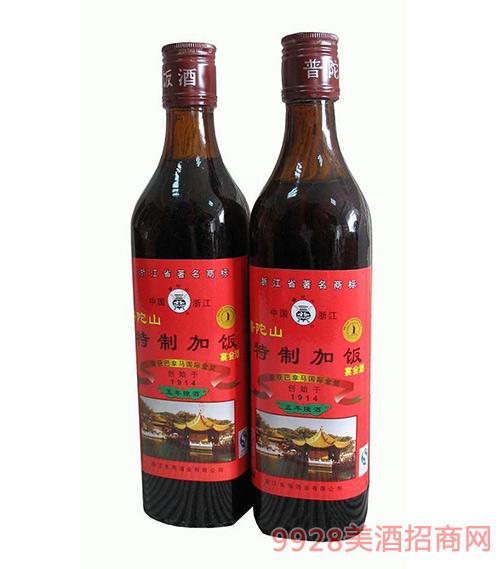 普陀山五年陈特制加饭酒500ml