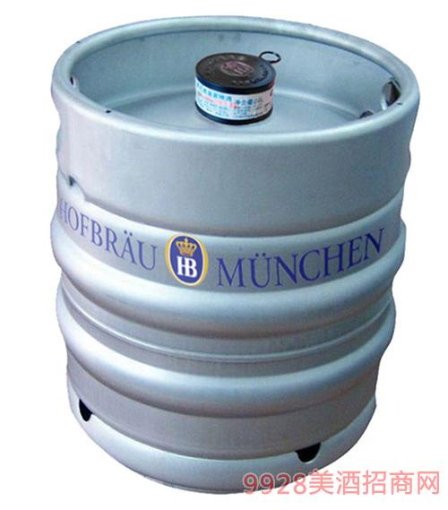 德国皇 家HB啤酒20L黄啤