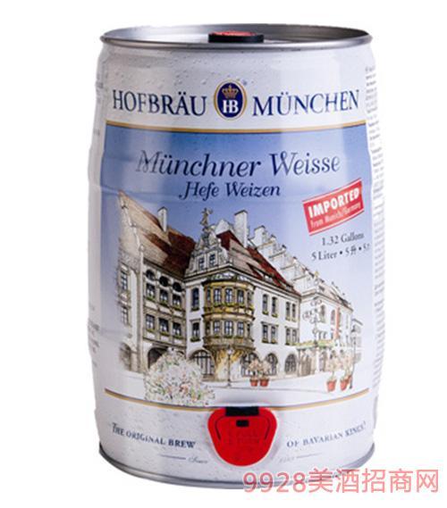 德国皇 家5升小麦白啤酒