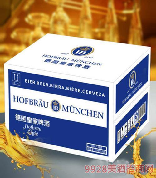 德国皇 家HB啤酒8°P298ml×24瓶