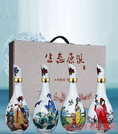 亳州壇子酒(生態原漿四大美女)