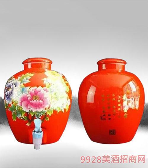 亳州坛子酒(花开富贵)