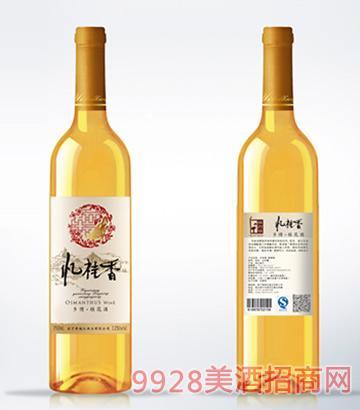 忆桂香酒乡情桂花酒750ml瓶装