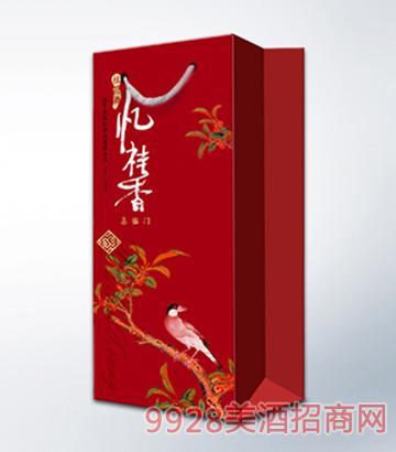 忆桂香酒喜临门750ml单支礼盒手袋
