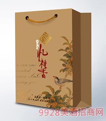 忆桂香酒喜相逢复古纸375ml手袋