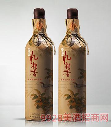 忆桂香酒喜相逢复古纸包装375ml
