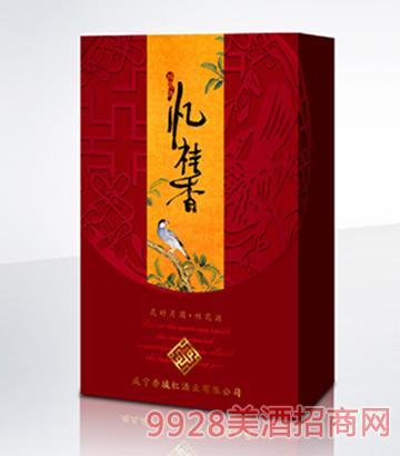 忆桂香酒花好月圆375ml双支礼盒