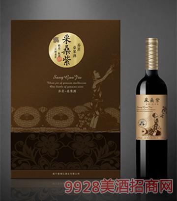 采桑紫桑果酒养葚375mlx2