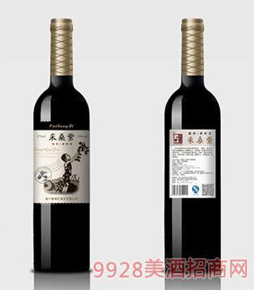 采桑紫桑果酒靓颜375ml