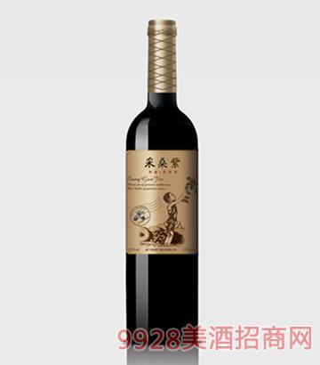 采桑紫桑果酒养葚375ml单瓶
