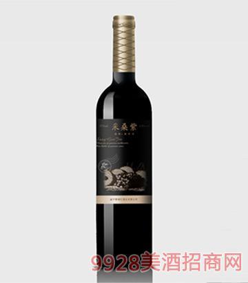 采桑紫桑果酒逸寿375ml黑标单瓶