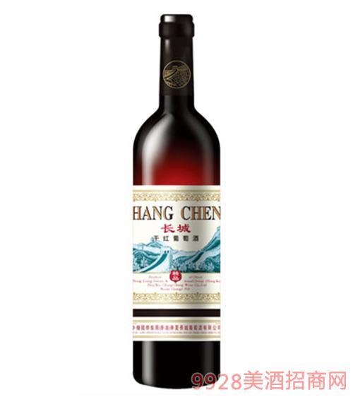 精品长城干红葡萄酒
