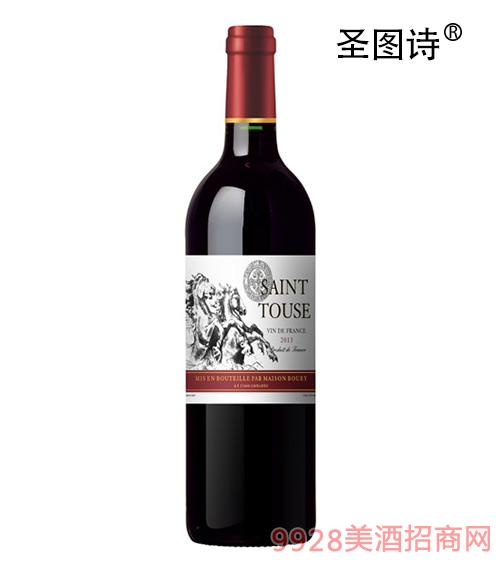 圣图诗马牌普通干红葡萄酒2013
