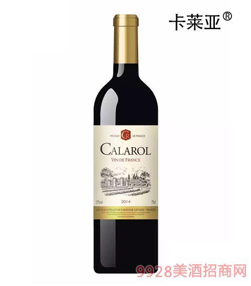 卡莱亚风车干红葡萄酒2014