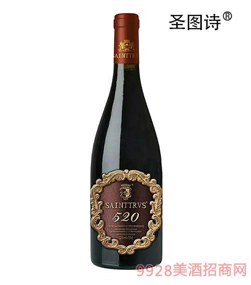 圣图诗?诱蜜之吻干红葡萄酒