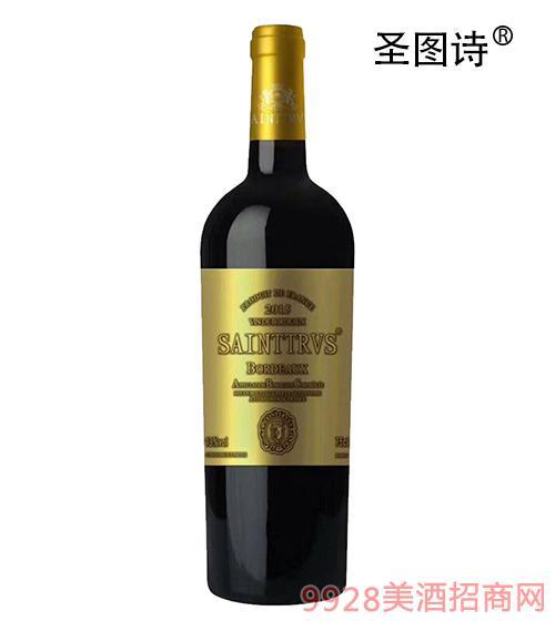 圣图诗?金伯爵干红葡萄酒