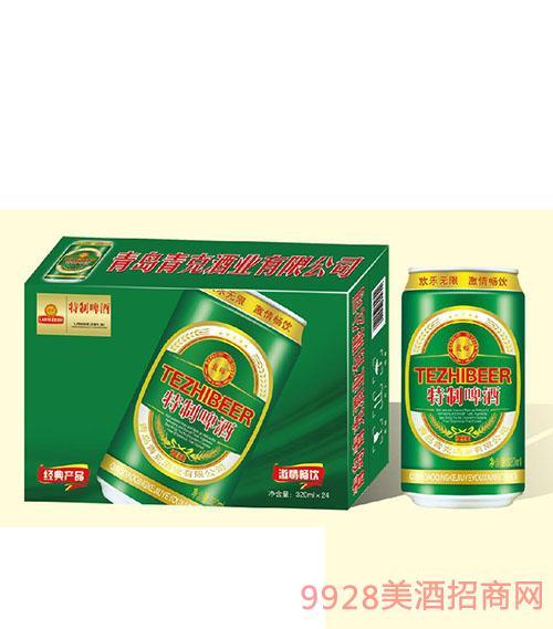 蓝裕特制啤酒320mlx24
