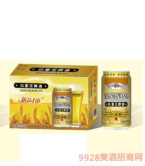 蓝裕小麦王啤酒320mlx24