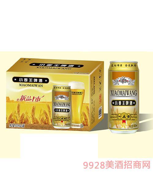 蓝裕小麦王啤酒500mlx24