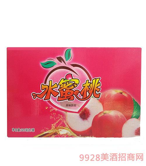 水蜜桃果味320饮料毫升