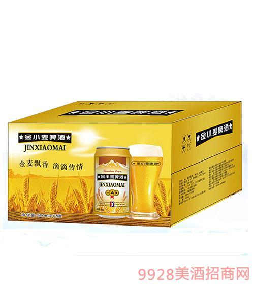 金小麦啤酒500mlx12罐