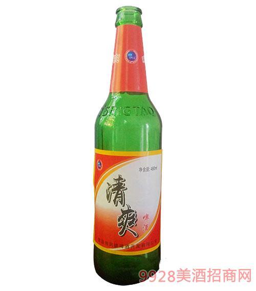 清爽啤酒8°480ml