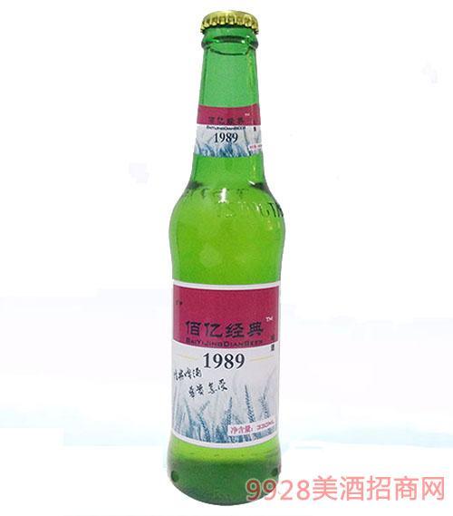 佰屹经典啤酒1989蓝瓶8°330ml