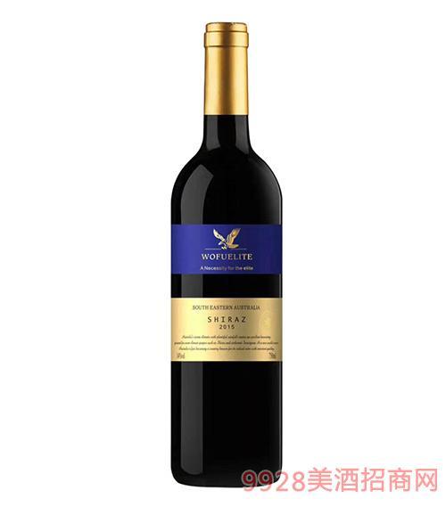 禾富金鹰西拉干红葡萄酒2015