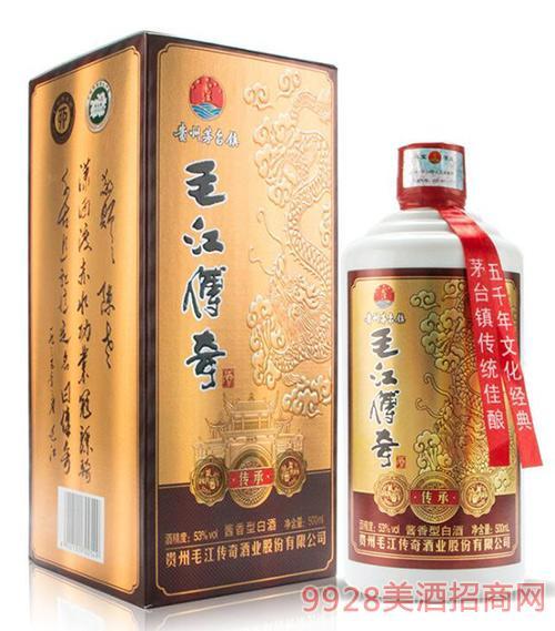 毛江传奇酒·传承53度500ml酱香酒