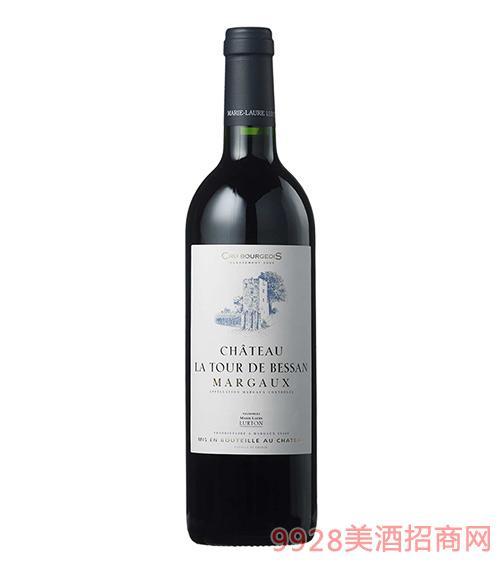 法国拉图贝桑城堡红葡萄酒