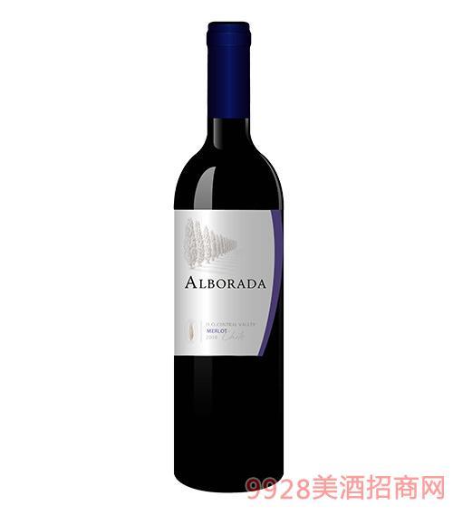 智利金柏梅洛红葡萄酒