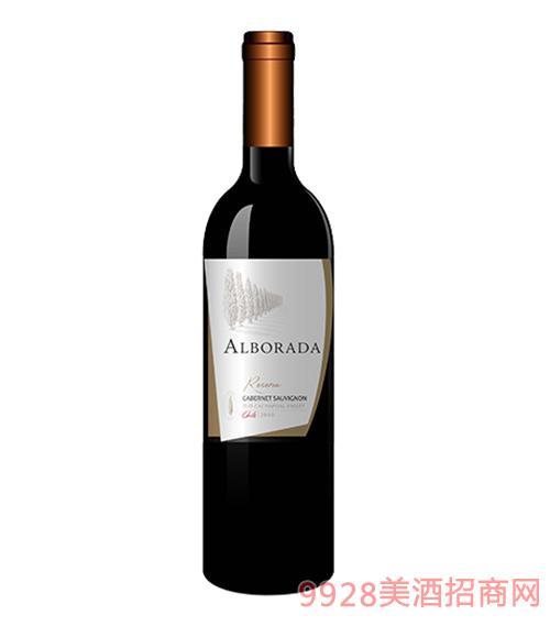 智利金柏珍藏梅洛红葡萄酒