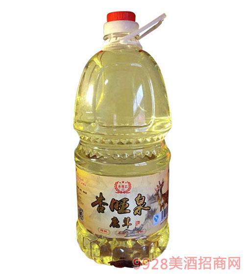 永难忘杏旺泉鹿茸酒42度8斤