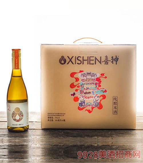 喜神纯酿米酒365ml礼盒