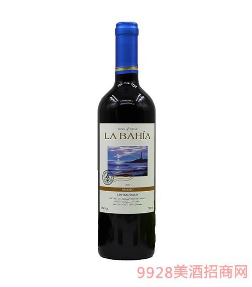智利海景湾精选马尔贝克干红葡萄酒