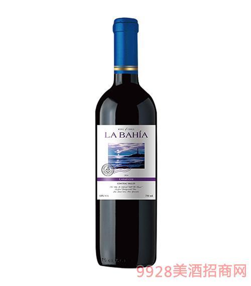 智利海景湾精选佳美娜干红葡萄酒