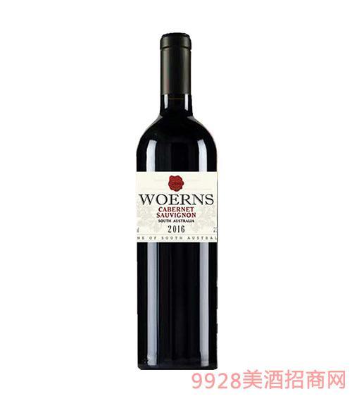 澳大利亚沃恩斯赤霞珠干红葡萄酒