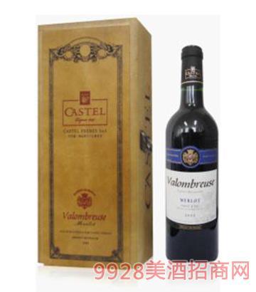 瓦伦堡精品美乐干红葡萄酒