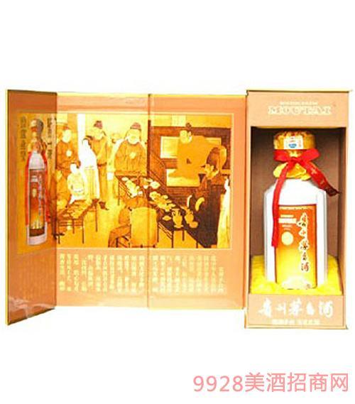 500ml豪华装茅台酒(金色)