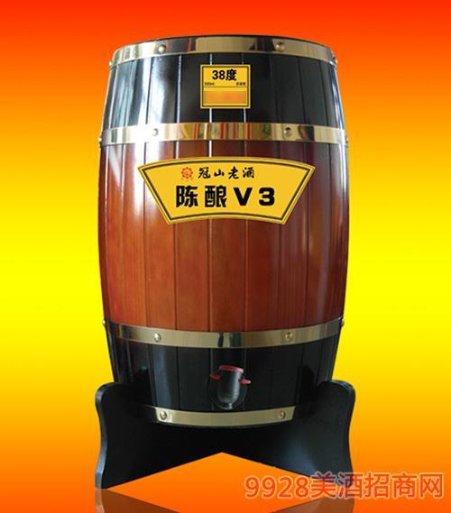 38度冠山老酒陈酿V3