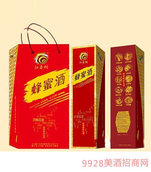 红春树-蜂蜜酒(礼袋装)12度500ml