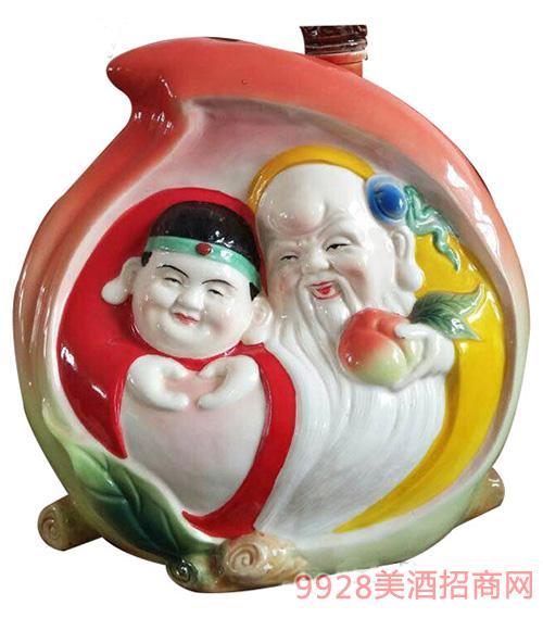 古井镇福寿陶瓷酒