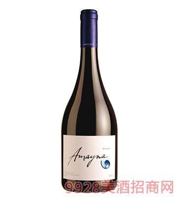 蓝色幻想西拉干红葡萄酒