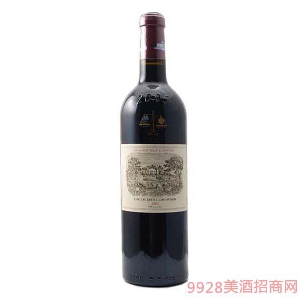 拉菲庄园干红葡萄酒2005-750ml
