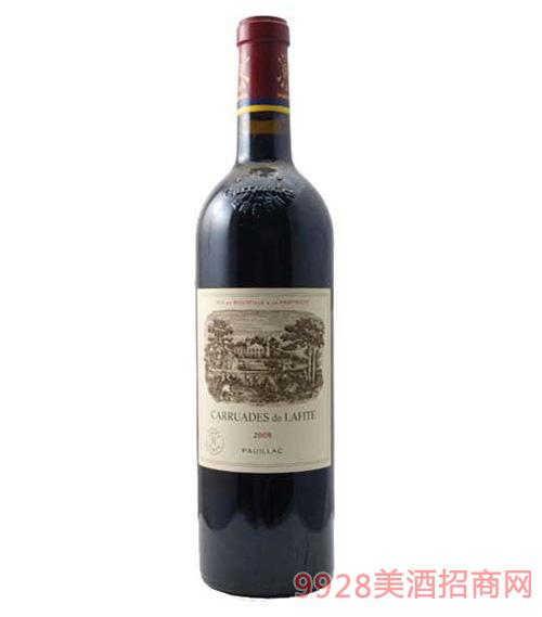 拉菲副牌红葡萄酒2008-12.5度750ml