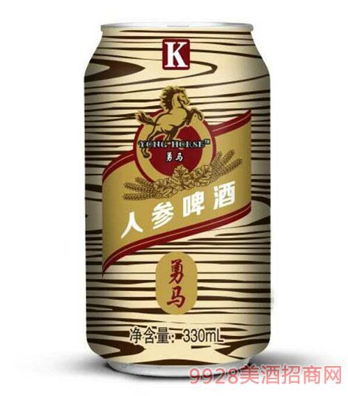 K人参啤酒330ml