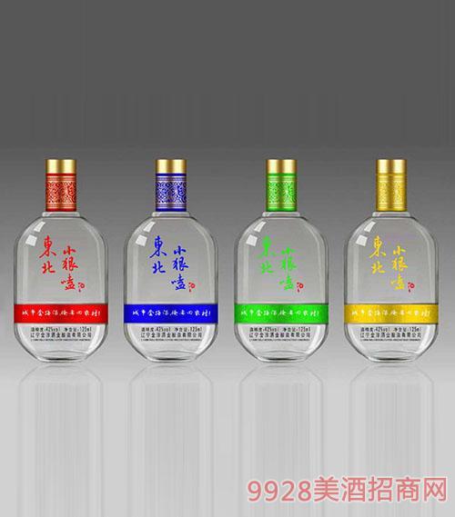 东北小狠嗑酒42度扁瓶