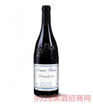 勃西城堡酒庄扁桃树干红葡萄酒